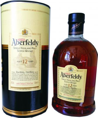 Aberfeldy 12 Jahre Single Malt Scotch Whisky 0,7 L