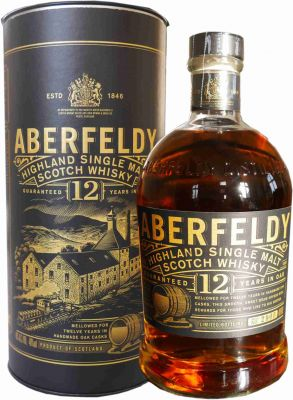Aberfeldy Single Highland Malt Whisky 12 Jahre  1 L