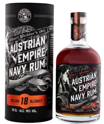 Austrian Empire Navy Rum Solera 18 Jahre 0,7 L 40% vol.