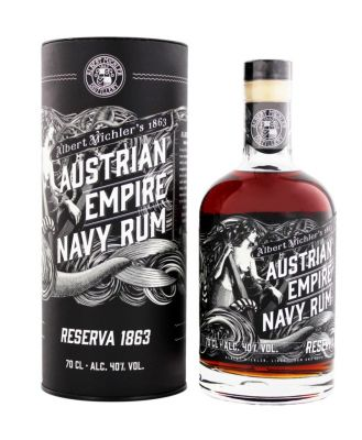 Austrian Empire Navy Rum Reserva 1863 0,7 L 40% vol