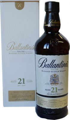 Ballantines ® Scotch Whisky 21 J. alt 0.7 L 40% vol.