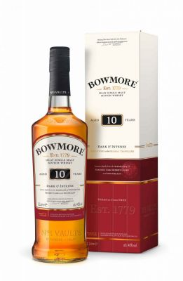 Bowmore 10 J. Dark & Intense Islay Single Malt Whisky 40% vol.1 L