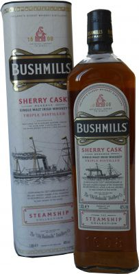 Bushmills Sherry Cask Single Malt Irish Whisky 0,7 L Steamship Collection