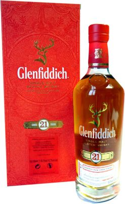 Glenfiddich 21 Jahre Rum Cask Finish 0,7 Liter 43,2% vol.