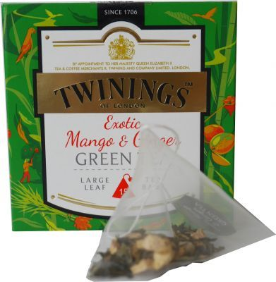 Twinings Exotic Mango + Ginter Grüner Tee, Green Tea