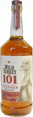 Wild Turkey 101 Proof, 1 Liter, Kentucky Straight Bourbon