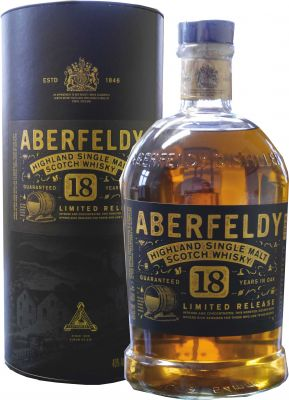 Aberfeldy 18 Jahre Single Malt Scotch Whisky 1 L  40% vol.