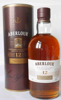 Aberlour Sherry Cask Single Highland Malt 12 J 1 L.
