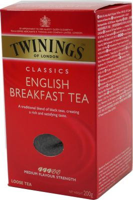 Twinings English Breakfast Tee. 200 g Packung
