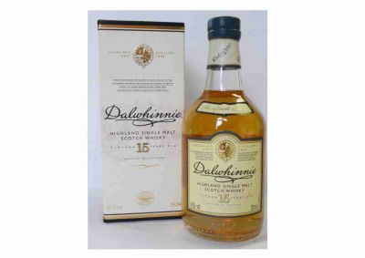 Dalwhinnie Single Highland Malt, 15 J. 0,2L