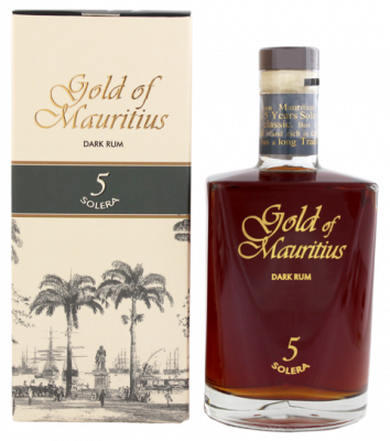 Gold of Mauritius Dark Rum Solera 5 Jahre 0,7 L 40% vol