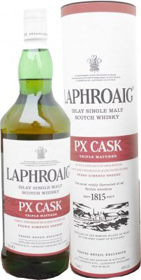 Laphroaig PX Cask Triple Matured Islay Single Malt Whisky, 1 L. 48%