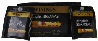 Twinings English Breakfast Tee mit vakuumierten 50 Frischebeutel