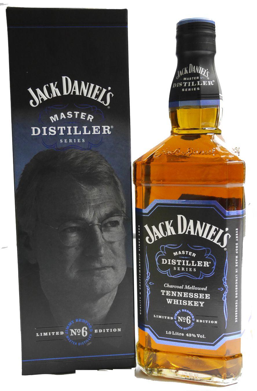Jack Daniels Master Bourbon Series No. 6, 1 Liter-Travel