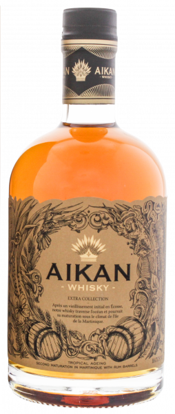 Aikan Extra Whisky Flasche