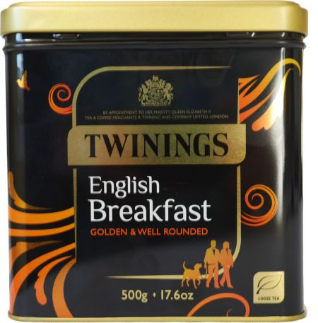 Twinings English Breakfast Tee. 500 g Dose Schwarztee bestellenDose